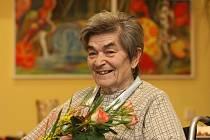 Královnou krásy se v Domově pro seniory sv. Jiří stala Antonie Lišková. Vybrala ji čtyřčlenná pánská porota