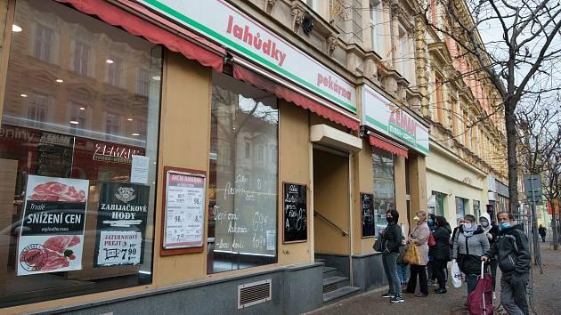 Nouzový stav v plzeňských ulicích.
