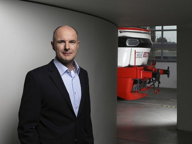 Josef Bernard začínal od píky ve Škodovce, dnes je generálním ředitelem Škoda Transportation