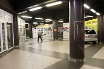 Podchod na Americké třídě u hlavního vlakového nádraží