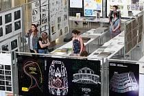 Výstava prací studentů Fakulty umění a designu ZČU