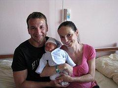 David (3,273 kg, 48 cm) se narodil 5. června v 16:22 ve Fakultní nemocnici v Plzni. Na světě svého prvorozeného syna přivítali maminka Lenka Šizlinková a tatínek Zdeněk Slováček z Plzně