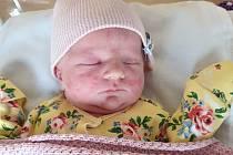První miminko roku 2021 je Viktorka.