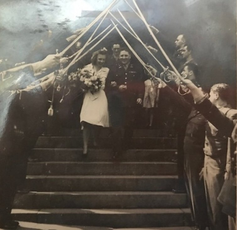 Svatba v metodistickém kostele