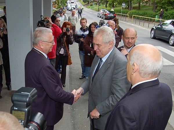 Miloš Zeman vTachově
