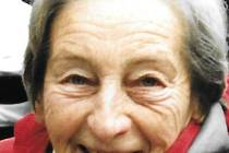 Dana Zátopková na archivním snímku.