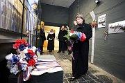 První dáma Ivana Zemanová v Muzeu na demarkační čáře v Rokycanech