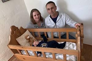 Jaroslava Stachová a Michal Stach jsou šťastnými rodiči tříměsíčního Ondřeje.