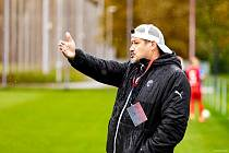 Trenér plzeňských fotbalistek Daniel Prokop. Foto: David Koranda