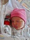 Viktorie Brožíková se narodila 7. prosince v9:34 mamince Tereze a tatínkovi Davidovi zMýta. Po příchodu na svět vplzeňské FN vážila sestřička dvouleté Adélky 3300 gramů a měřila 50 cm.