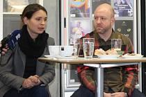 Natália Deáková a Jan Holík představují plzeňskou dramatizaci Mannova Mefista