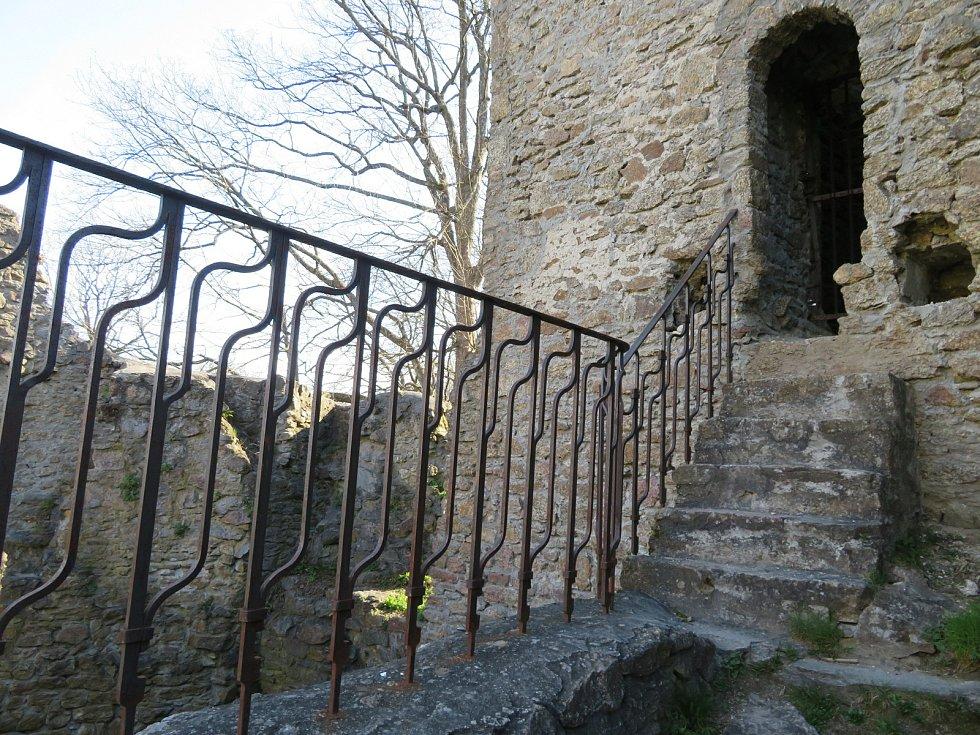 Hrad Choustník na Táborsku