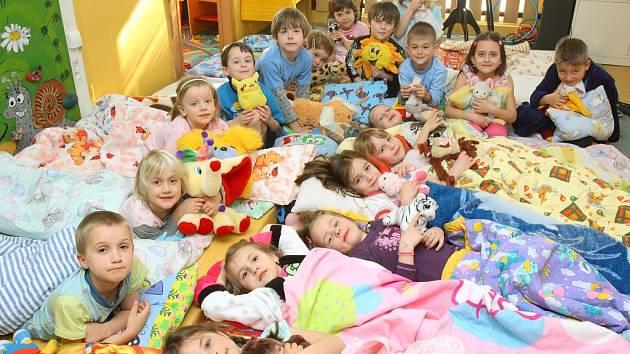 Mezinárodní den zdravého spánku v mateřské škole v Tomanově ulici v Plzni