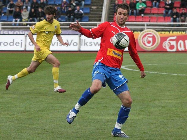 Fotbalisté Viktorie Plzeň  porazili v Rakousku chorvatského mistra Dinamo Záhřeb 2:1. První gól Viktorie vstřelil Marek Bakoš (na archivním snímku)