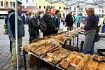 S koncem prázdnin se obnovilo konání pravidelných farmářských trhů na plzeňském náměstí Republiky.