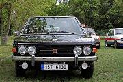Retrojízda - sraz historických automobilů do roku výroby 1989 v kempu u přehrady České údolí v Plzni - Liticích.