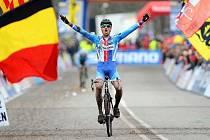 Naposledy se Zdeněk Štybar radoval z cyklokrosového titulu v roce 2014, kdy se jelo mistrovství světa také v Belgii, v Hoogerheide.