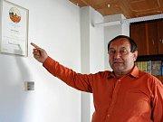 Roman Slach rozšířil řady dobříčských hasičů před čtvrtstoletím