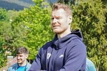 Kondiční trenér Jan Snopek.
