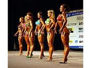Finalistky kategorie juniorky bodyfitness do 163 cm