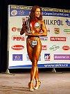 Vyhlášení vítězek juniorek v bodyfitness v kategorii nad 163 cm