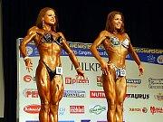 O absolutní vítězství v kategorii bodyfitness juniorek se utkaly Eva Sváčková s Polkou Radziwoniukovovu