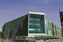 Vizualizace obchodního centra Aréna
