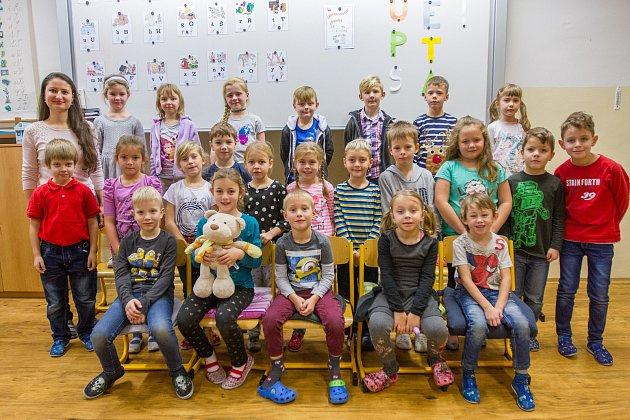 11. základní škola vPlzni. 1.B Třídní učitelka Eliška Filipová