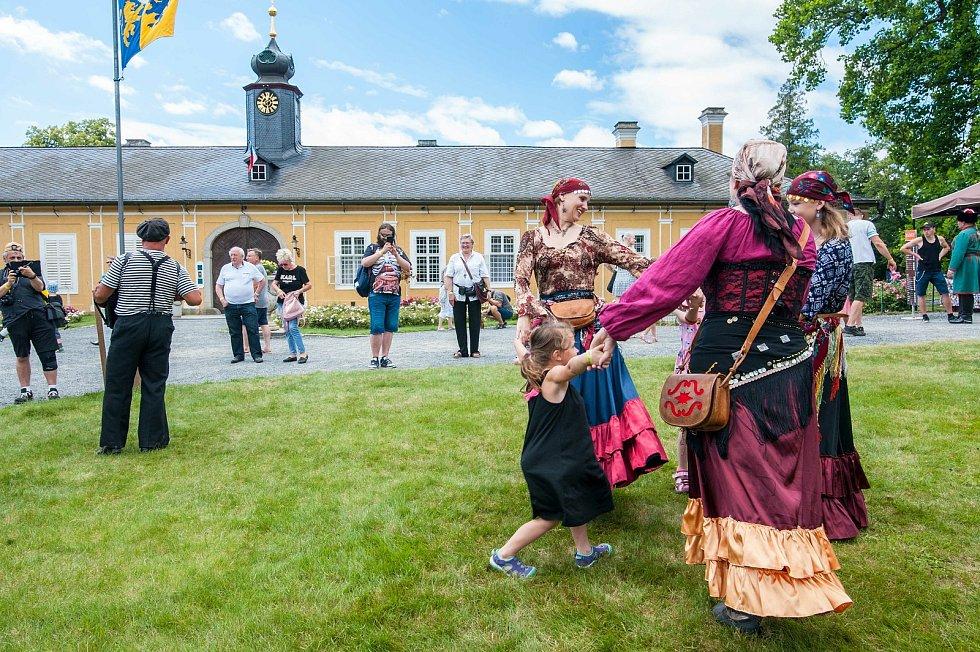 Hrabě Valdštejn a století páry na zámku Kozel.