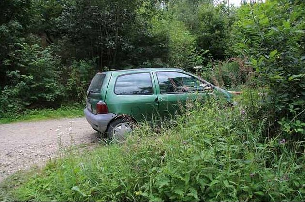 Auto, které ukradl prozatím neznámý pachatel.