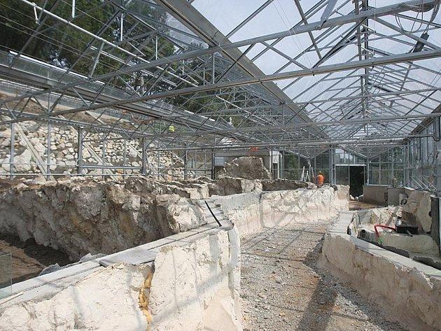 Výstavba nového pavilonu v plzeňské zoo