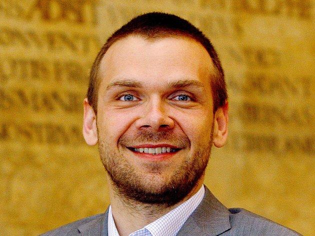 Primátor Martin Baxa.