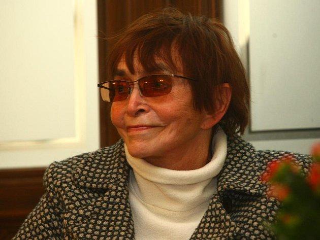 Režisérka Věra Chytilová přijela besedovat na Finále.