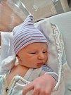 Václav Molcar se narodil 21. listopadu ve 22:49 mamince Kristýně a tatínkovi Václavovi zVrážného u Plas. Po příchodu na svět vplzeňské FN vážil jejich prvorozený synek 3490 gramů a měřil 50 centimetrů.