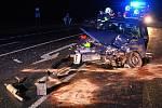 Noční nehoda u Chlumčan