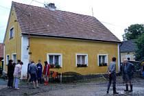 Ohrožený dům v Pakoslavi