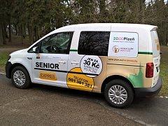 Nový vůz žádané služby Senior Expres