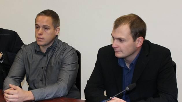 Jan Pergl a Lukáš Zahradník