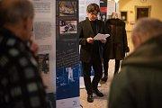 Ralf Pasch, německý novinář a publicista, přijel do Studijní a vědecké knihovny Plzeňské kraje zahájit výstavu o osudech středoevropské rodiny Schalekových.