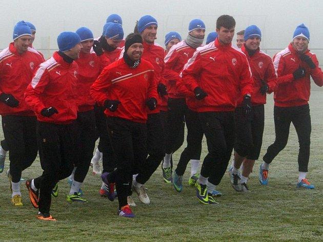 Zimní příprava fotbalistů Viktorie Plzeň