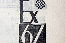 Logo výstavy EX PLZEŇ 67.