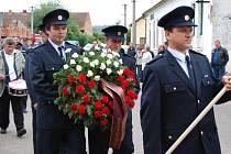 Jednapadesátičlenný sbor dobrovolných hasičů z Nebílovského Borku oslavil stoleté výročí od vzniku