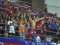Fanoušci Viktorie slavili ve středu se svými miláčky postup do další fáze fotbalové Ligy mistrů.