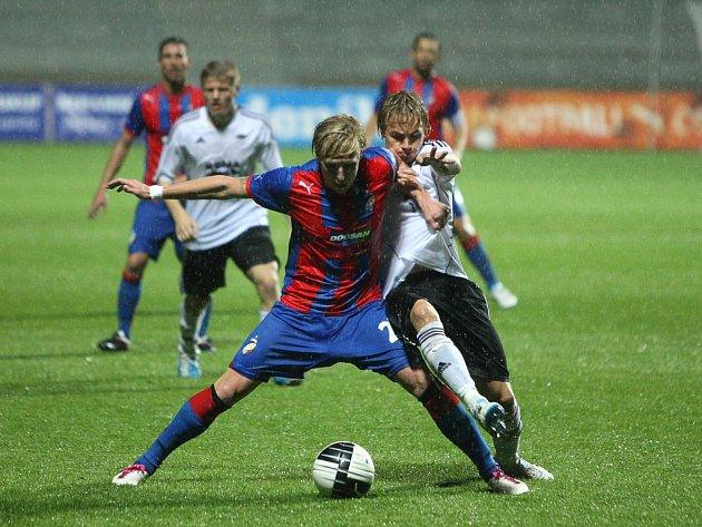 Ze zápasu Viktoria Plzeň - Rosenborg Trondheim 3:2.