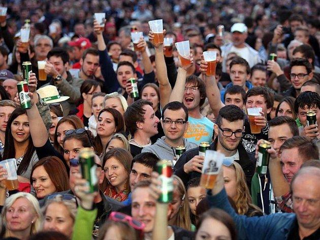 Festival na nádvoří pivovaru patří k jistotám. Vloni jej navštívilo přes 50 tisíc lidí.