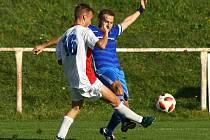 Zruč šokovala rezervu Jiskry. Bolevec slaví první body v sezoně.
