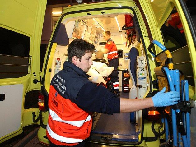 Služba se záchranáři v Plzni