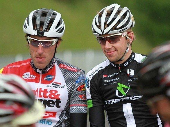 Ondřej Cink (vpravo) a Milan Spěšný
