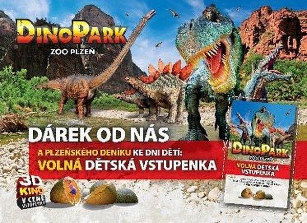 Akce pro děti vDino Parku ZOO Plzeň