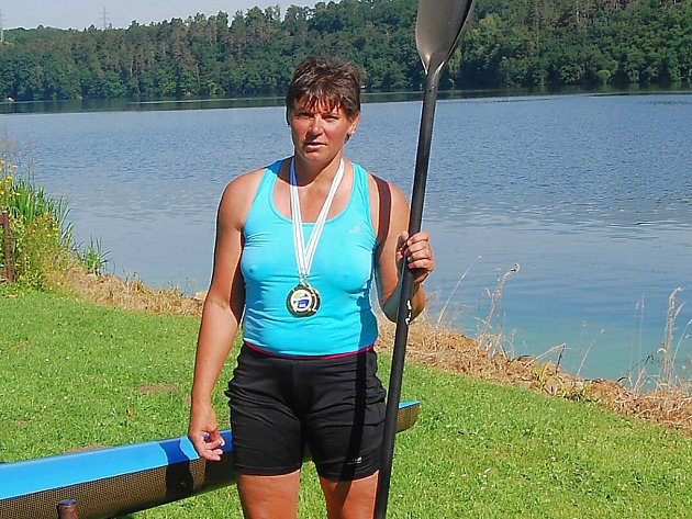 Kajakářka Barbora Vernerová si ze Španělska přivezla z mistrovství Evropy dvě medaile